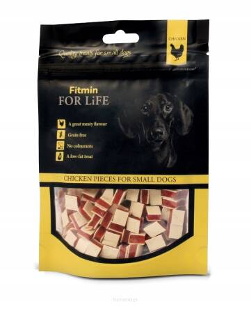 FITMIN FOR LIFE 70G CHICKEN PIECES PIES I KOT