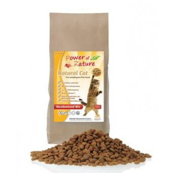 1.1. Power of Nature Natural Cat Meadowland Mix 2kg - kurczak, indyk, łosoś