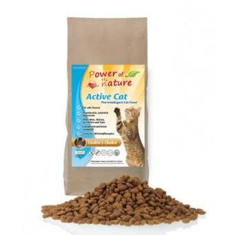 1.3. Power of Nature Active Cat Cookies Choice 2kg - kurczak i brązowy ryż