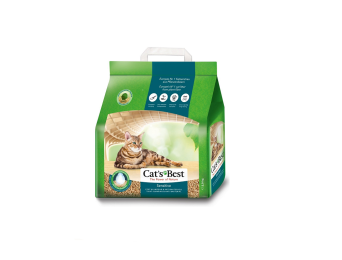 CATS CAT'S BEST SENSITIVE 2,9 KG 8L (GREEN POWER )