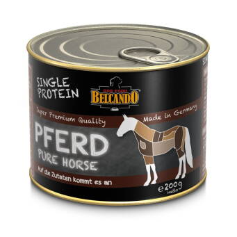 BELCANDO SINGLE PROTEIN 200G ADULT PURE HORSE