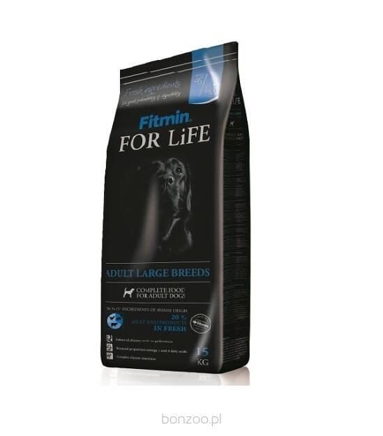 FITMIN FOR LIFE DOG ADULT LARGE 2x15KG