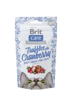 BRIT CARE TRUFFLES SNACK CAT URINARY CRANBERRY 50G