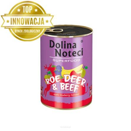 DOLINA NOTECI SUPERFOOD SARNA WOŁOWINA 400 g