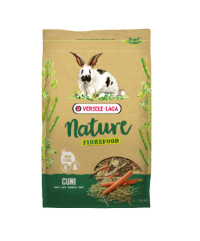 VERSELE LAGA CUNI NATURE FIBREFOOD 2,75KG SENSITIVE