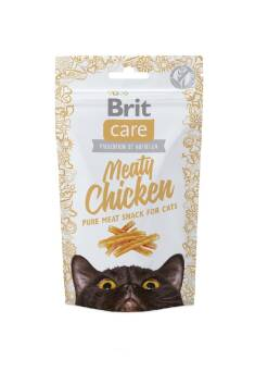 BRIT CARE MEATY CHICKEN PRZYSMAK DLA KOTA 50G